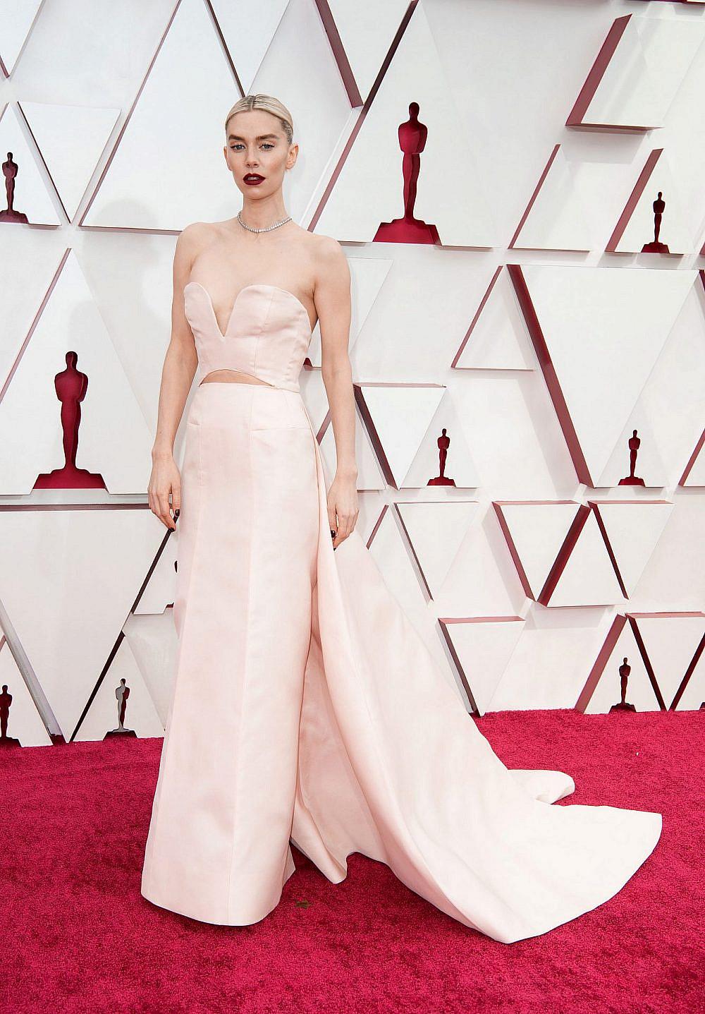 ונסה קירבי בשמלה של גוצ'י   צילום: Matt Petit/A.M.P.A.S. via Getty Images