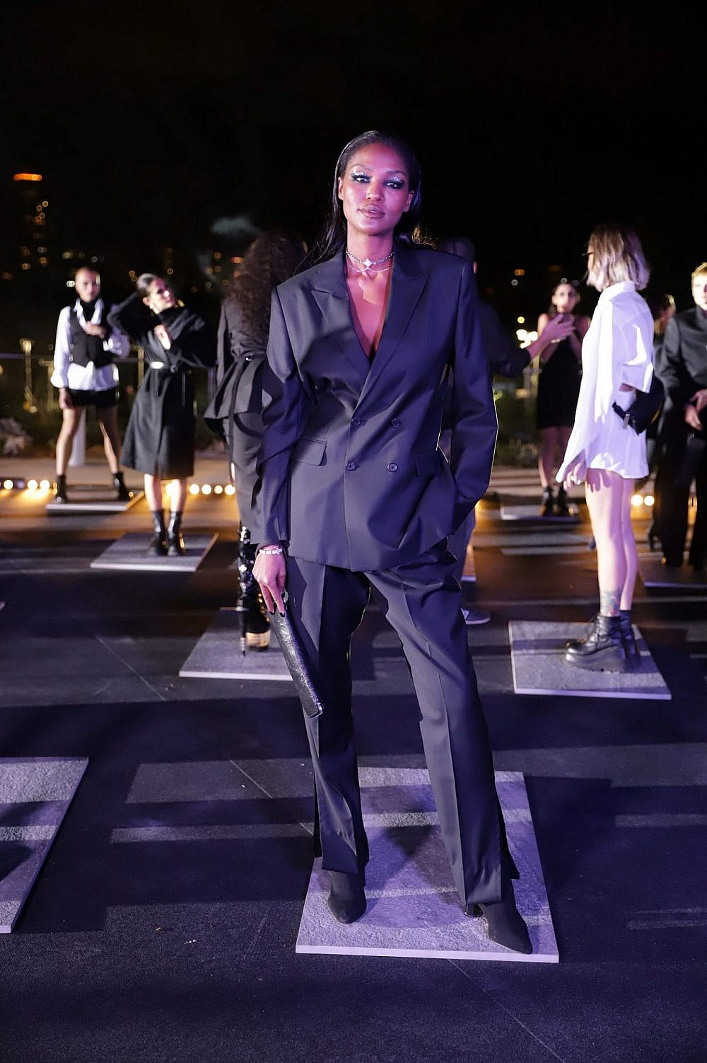 התצוגה של הילי ארי בשבוע האופנה תל אביב קורנית 2021 | צילום: אבי ולדמן