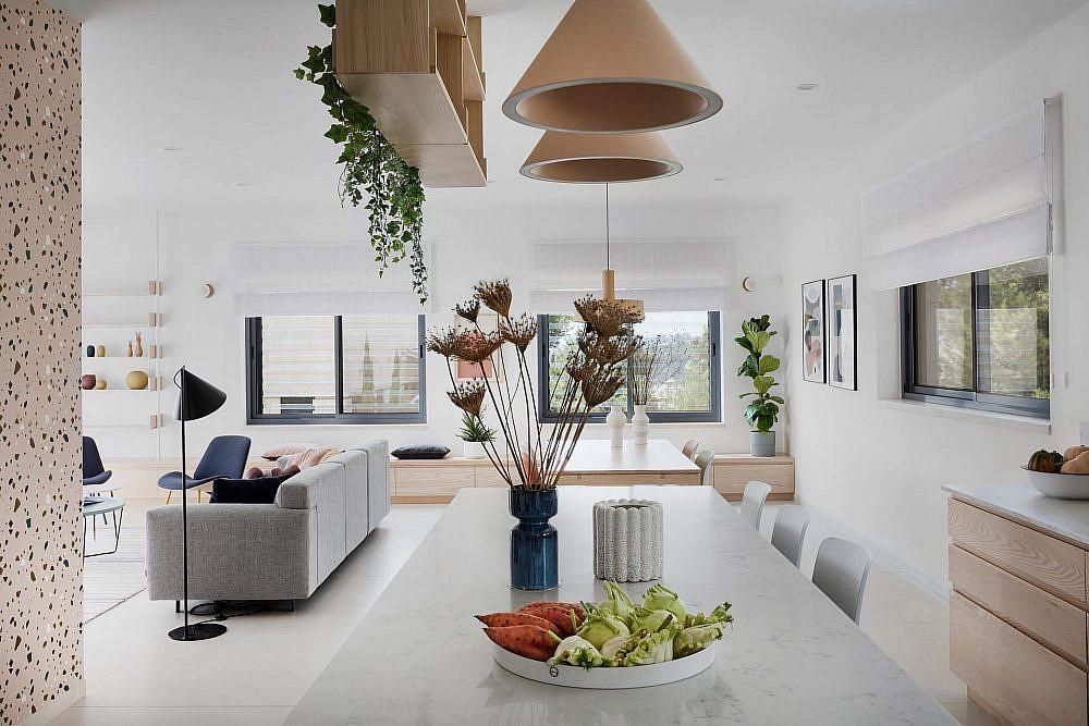 פנטהאוז בירושלים   אדריכלות ועיצוב פנים: Studio Details – מעיין מנור, רוית רזניק, צילום: שירן כרמל