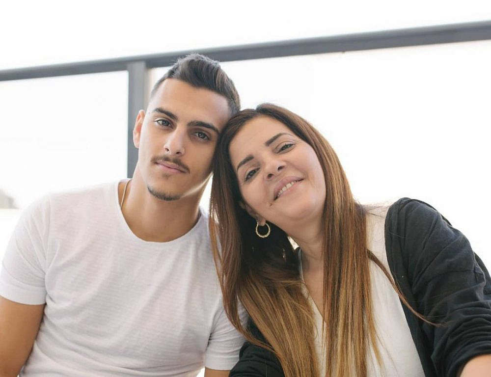 זהבה בן עם בנה בן רוזן   צילום: מתוך האינסטגרם zehava_ben5@