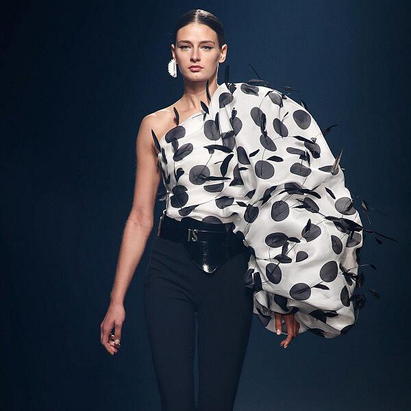 מתוך שבוע האופנה במדריד | צילום: AFP7/Getty Images