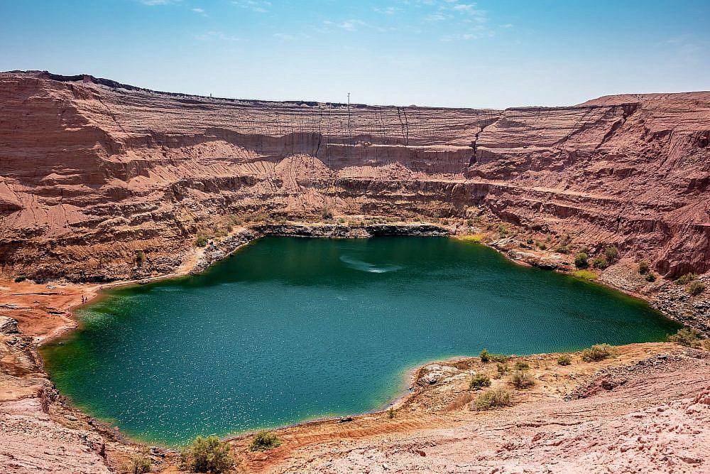 האגם הנעלם בתמנע | צילום: shutterstock