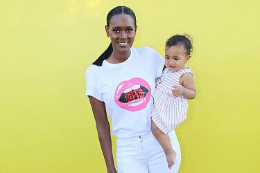טהוניה רובל והילדה טליה | צילום: רפי דלויה