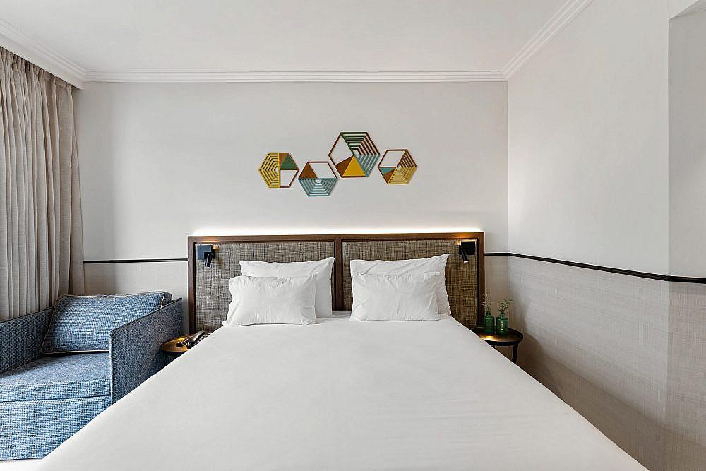 מלון בקיבוץ רמת רחל | צילום: גדעון לוין