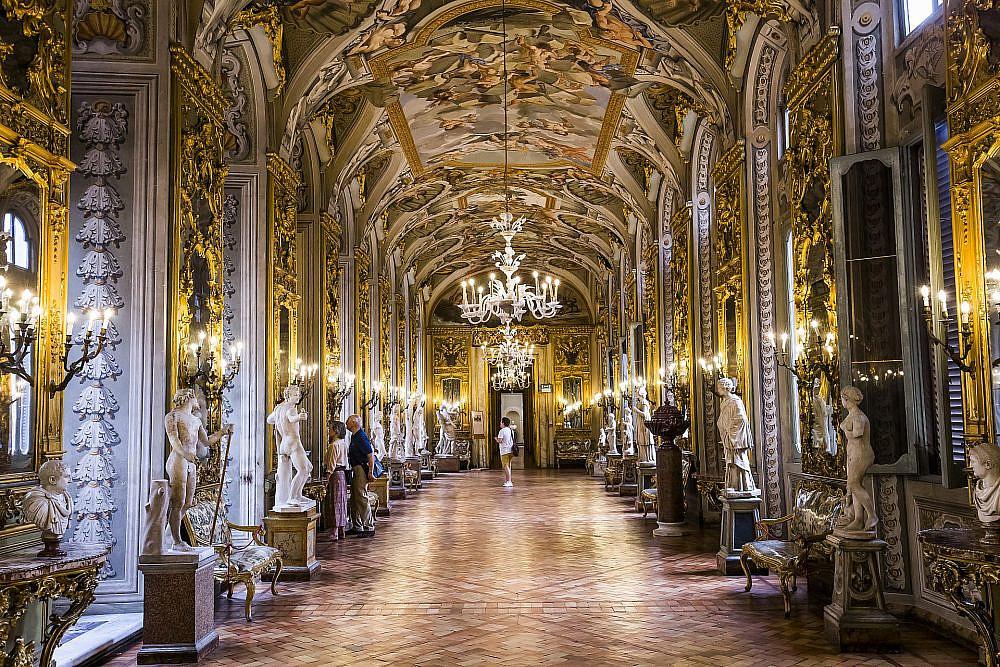 Galleria Doria Pamphilj ברומא   צילום: shutterstock