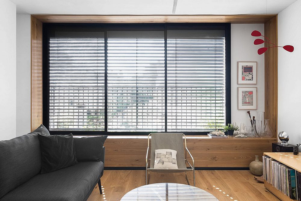 הספסל כמסגרת החזית | עיצוב: תמי פמפנל שנקר, צילום: מאיה אבגר