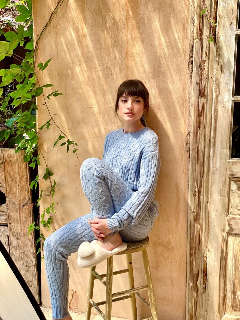 אליאנה תדהר מאחורי הקלעים לקמפיין דלתא | צילום: דור דימנט