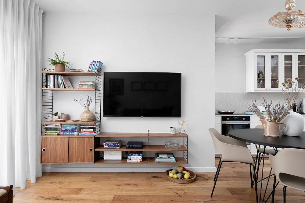 קיר הטלוויזיה   עיצוב: לירון גונן, צילום: שירן כרמל