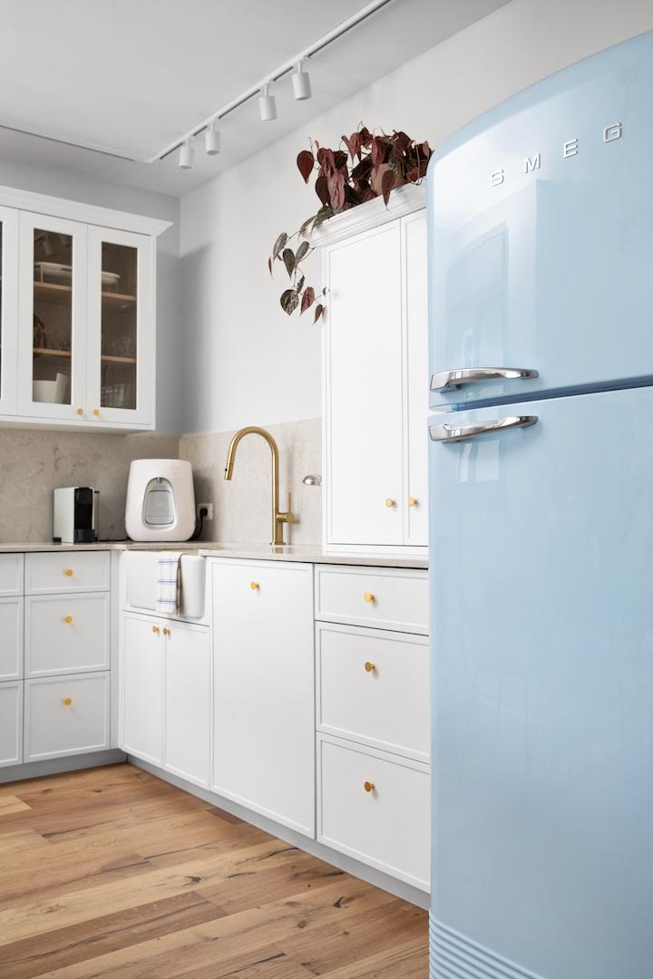 המקרר מכניס רוח חיים   עיצוב: לירון גונן, צילום: שירן כרמל