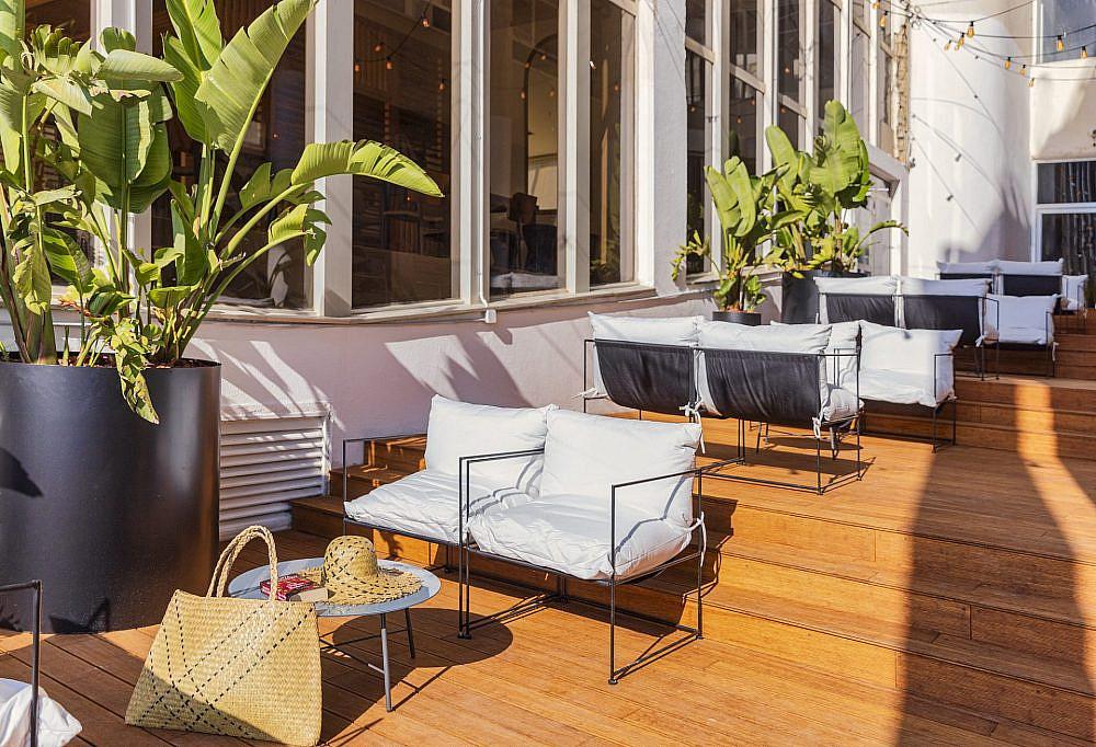 מלונות חדשים בתל אביב קיץ 2021. מלון ברוט האוס מבית מלונות בראון   צילום: מקס קובלסקי