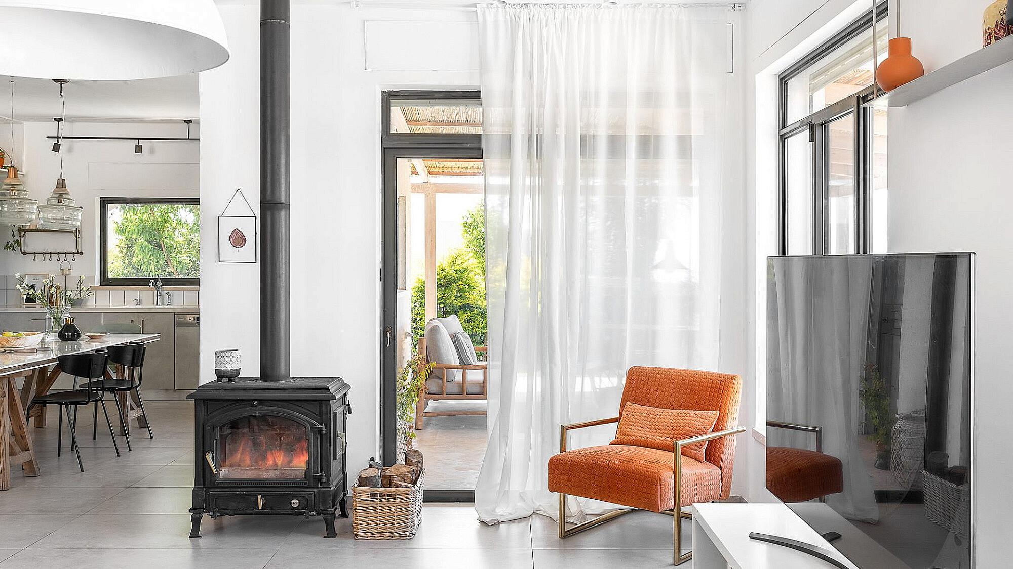 בית בקיבוץ יחיעם | עיצוב: מירב יציב, צילום: אורן עמוס