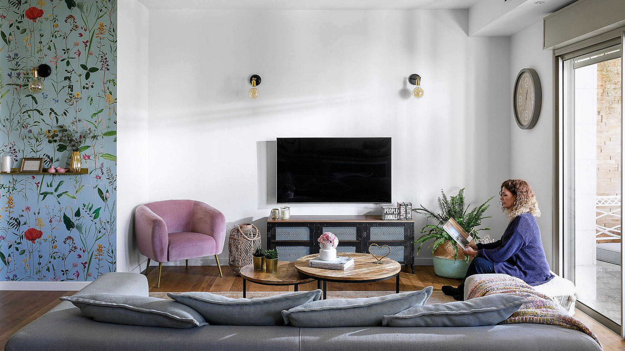 הסלון | עיצוב פנים: סיגל סיון ידוב, צילום: אורן עמוס