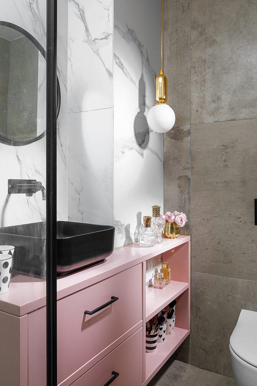 חדר הרחצה | עיצוב פנים: סיגל סיון ידוב, צילום: אורן עמוס