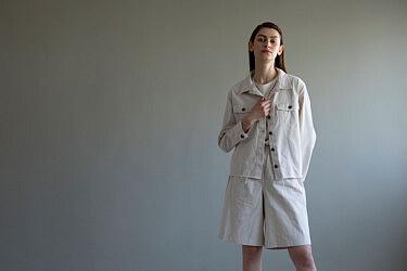 """מכנסי ברמודה של גרטרוד. 316 ש""""ח (בסייל)   צילום: רוני כנעני"""