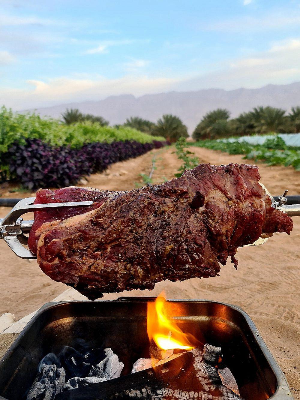 שף במדבר. רוברט ביטון | צילום: באדיבות שף במדבר