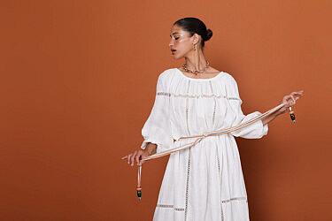 """שמלה בעיצוב קובי גולן, 1,247 ש""""ח   צילום: עמית  אופק"""