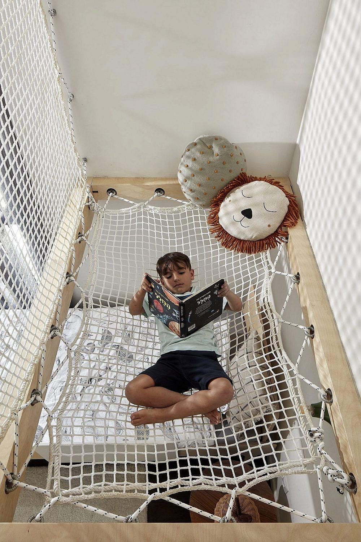 ערסל חבלים בחדר הילדים   צילום: שי גיל