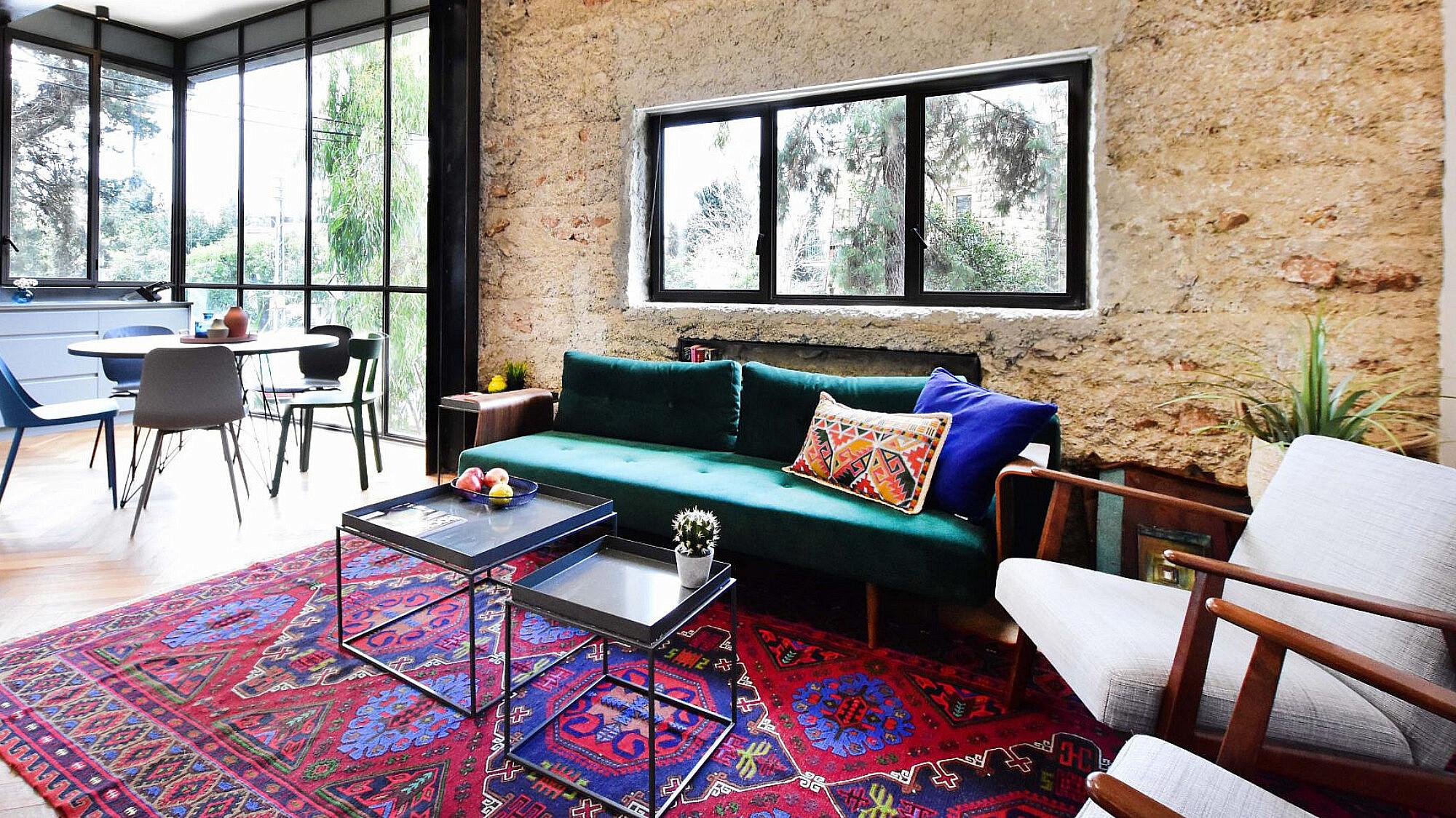 דירת נופש בירושלים | עיצוב פנים: סטודיו בי, צילום: סיון מויאל