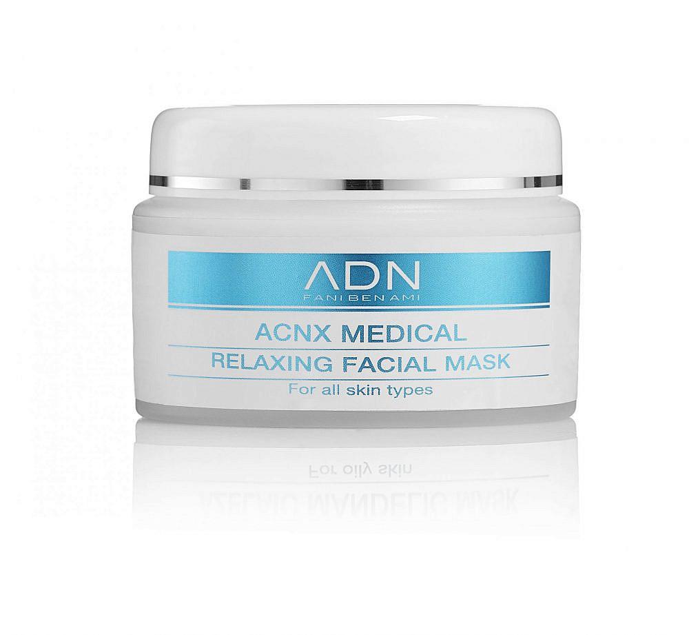 """לטיפול בעור שומני. acnx medical relaxing   צילום: יח""""צ"""