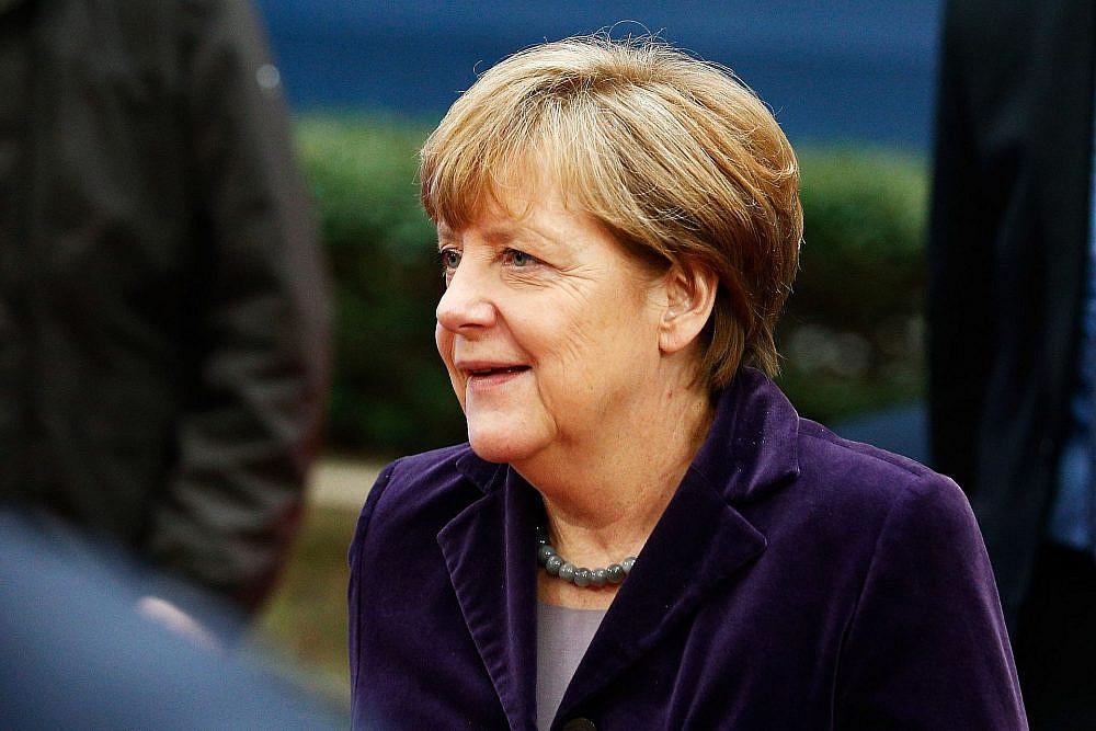 אנג'לה מרקל בישיבת המועצה האירופית ב-17 בדצמבר 2015 בבריסל, בלגיה | צילום: Gettyimages