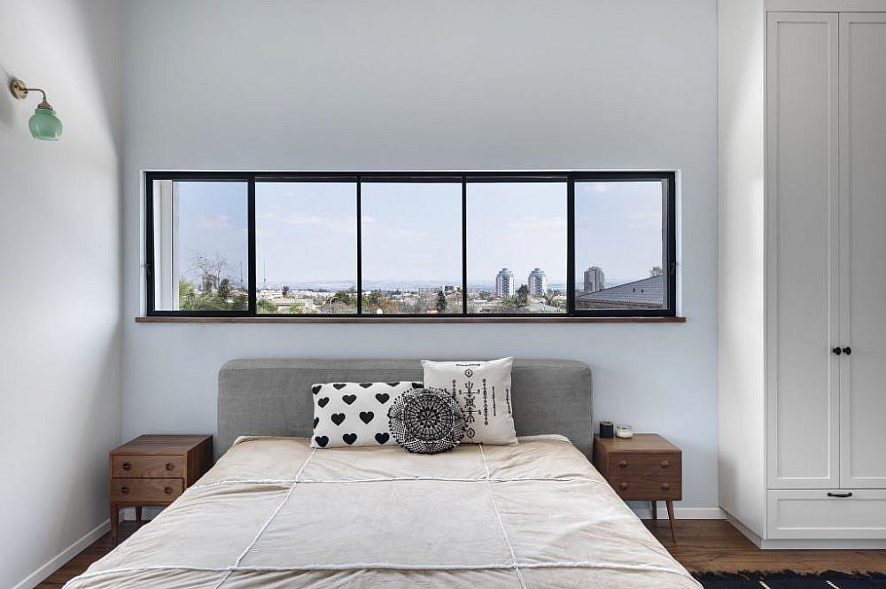 לא רק גודל. חדר השינה | הלל אדריכלות, צילום: עודד סמדר