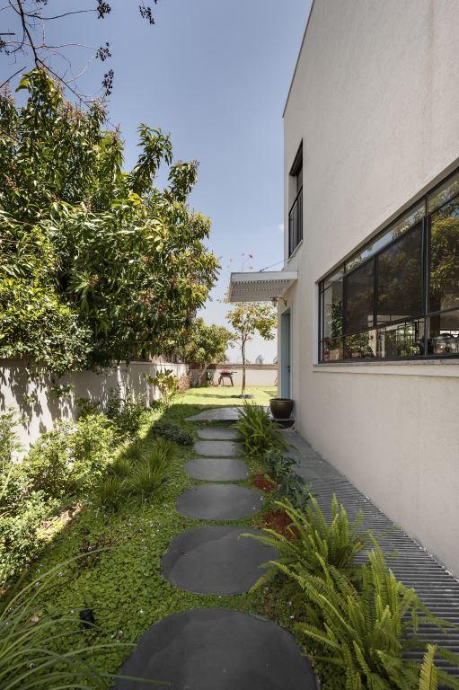 הכניסה לבית | הלל אדריכלות, צילום: עודד סמדר