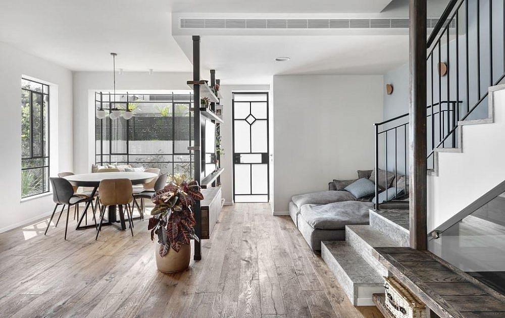 אור בבית, באמצעות פתחים גדולים | הלל אדריכלות, צילום: עודד סמדר