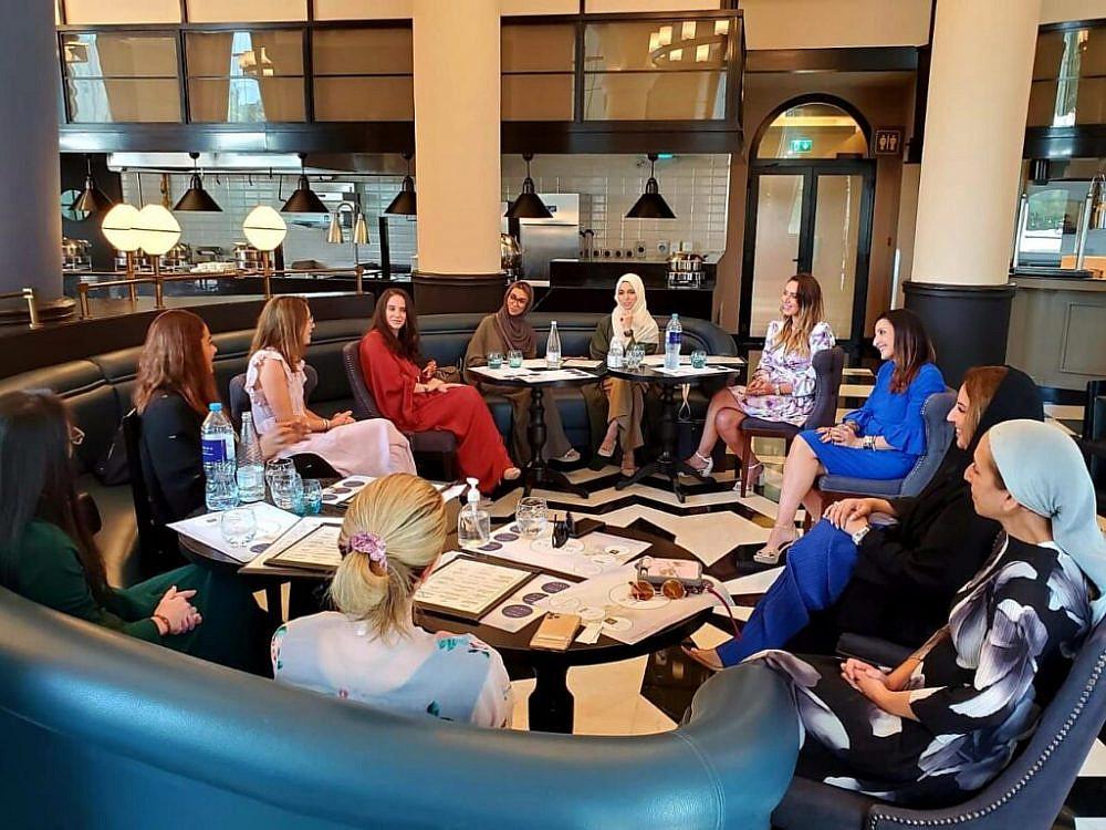 פורום נשים מפרץ-ישראל בפגישתן הראשונה בדובאי | צילום: Madi2128Wikimedia Commons
