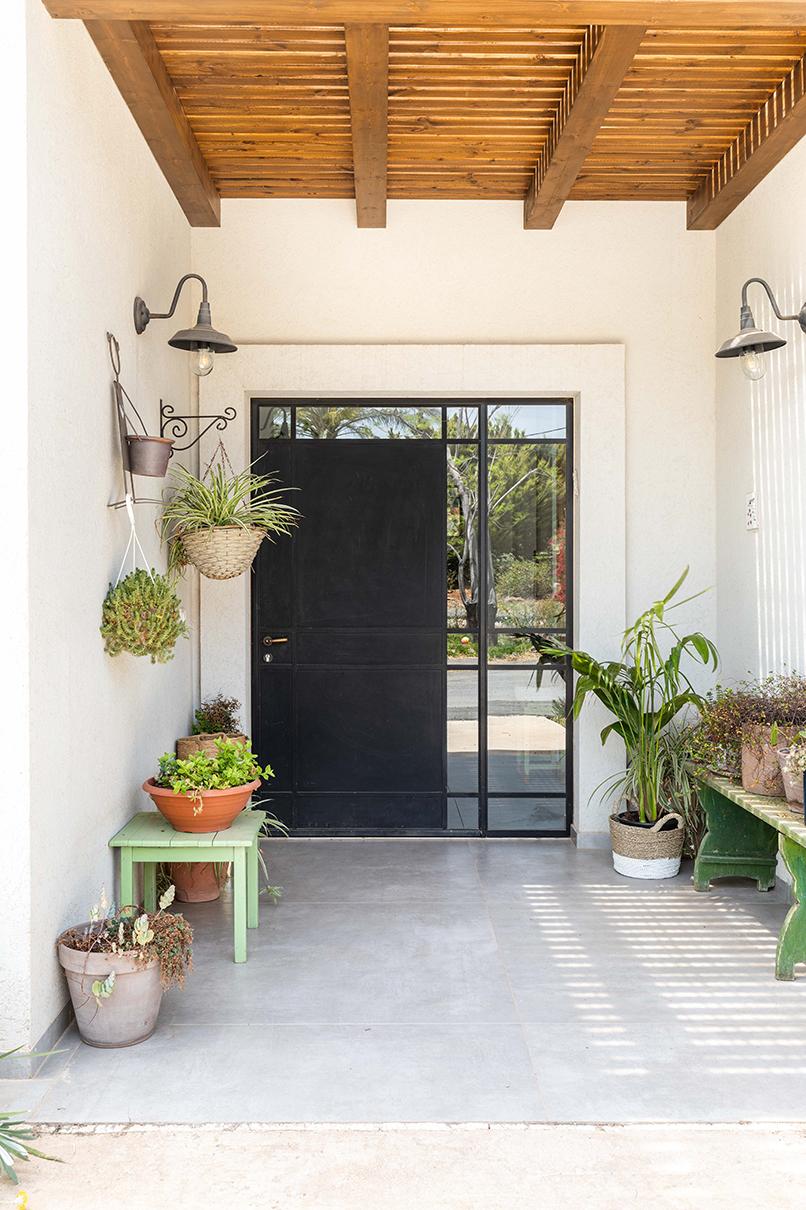 מבואת הכניסה   אדריכלות: רות חובב, עיצוב פנים: שני סלע, צילום: אורית ארנון
