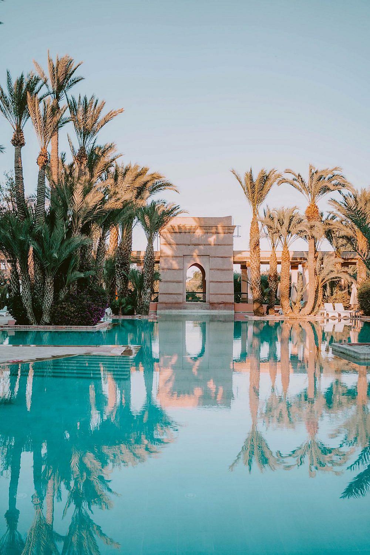 בעונה הנכונה הבריכה כמעט פרטית   צילום באדיבות Club Med Marrakech la Palmeraie
