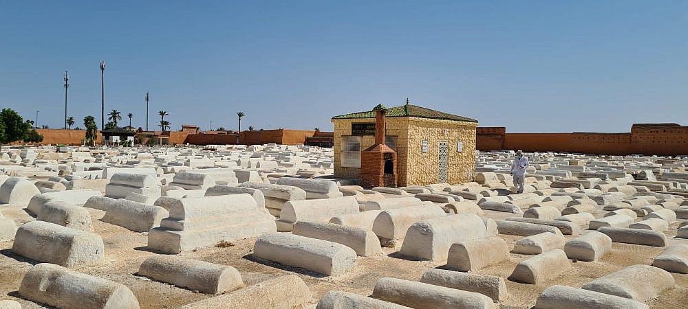 בית הקברות העתיק במרקש | צילום: שרון בן דוד